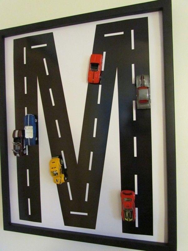 Inspired Race Car Track Monogram (Image 9 of 16)