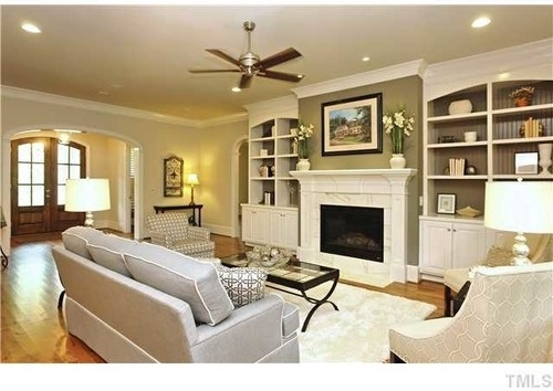 Is The Fireplace Accent Color The Same As Dining Room? What Is The within Fireplace Wall Accents