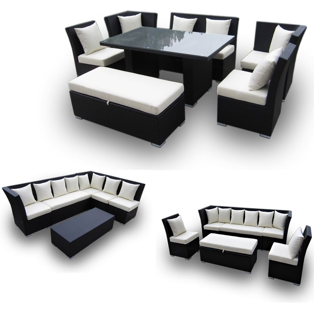 Jamaican Multipurpose Sectional Dining And Sofa Set – Great 2 For 1 Regarding Jamaica Sectional Sofas (View 3 of 10)