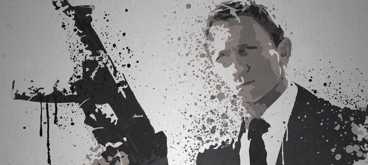 James Bond Canvas Art Prints — Icanvas With James Bond Canvas Wall Art (Image 5 of 15)