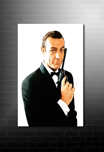 James Bond Canvas Art Regarding James Bond Canvas Wall Art (Image 6 of 15)