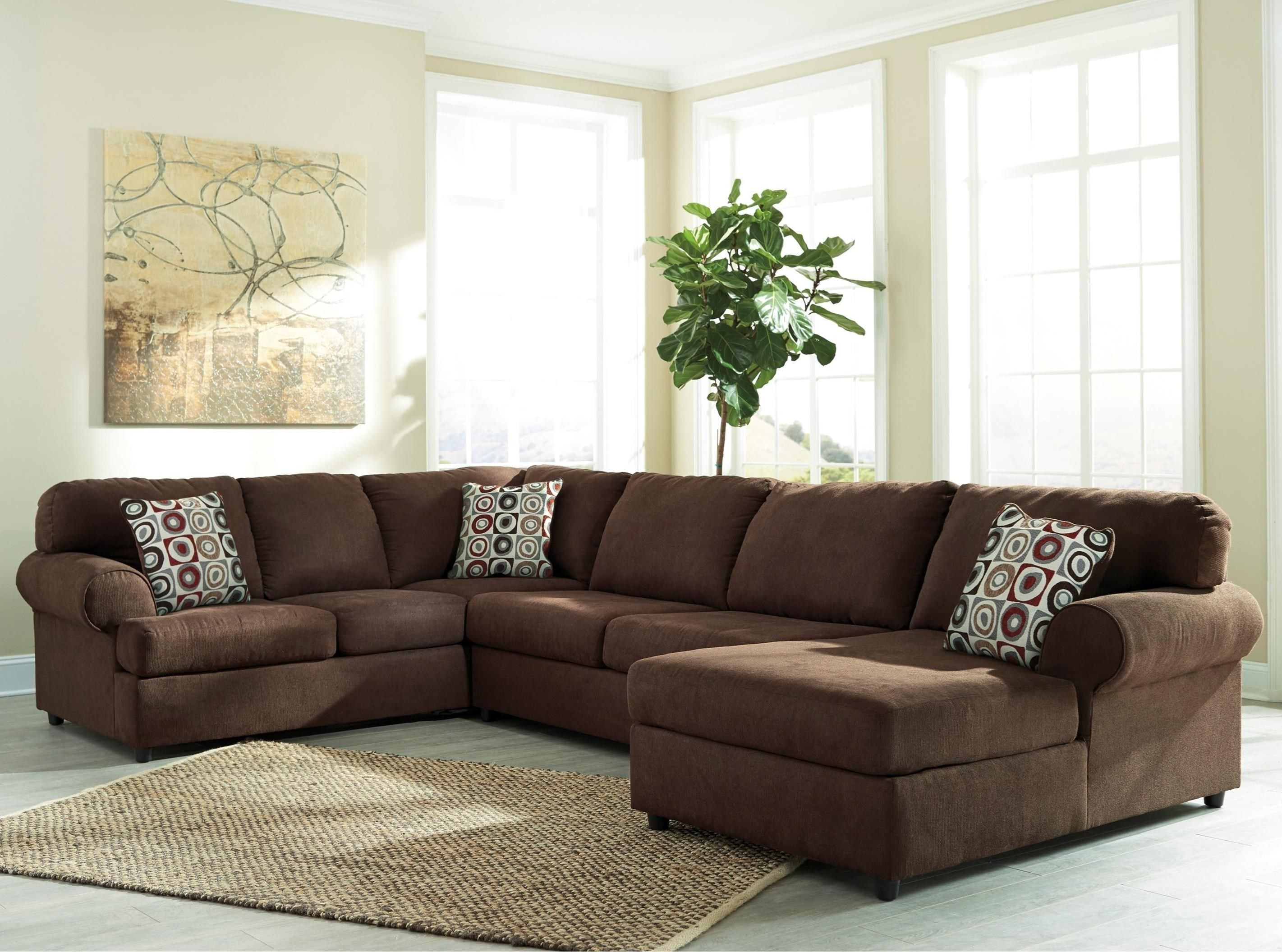 Jayceon 3 Piece Sectional With Chaisesignature Designashley Inside Royal Furniture Sectional Sofas (View 6 of 10)