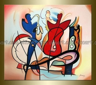 Jazz Wall Art | Compare Jazz Art Paintings-Source Jazz Art within Abstract Jazz Band Wall Art