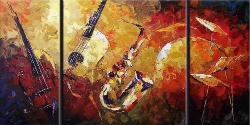 Featured Photo of Jazz Canvas Wall Art
