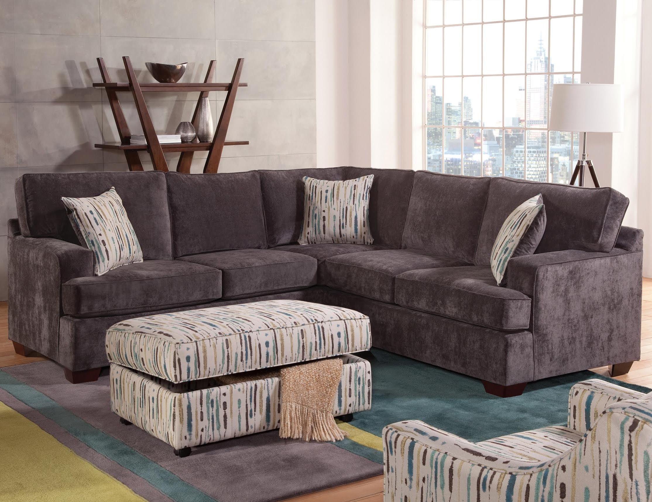 Jedd Fabric Reclining Sectional Sofa Reviews Sofas Contemporary San Regarding Jedd Fabric Reclining Sectional Sofas (View 4 of 10)