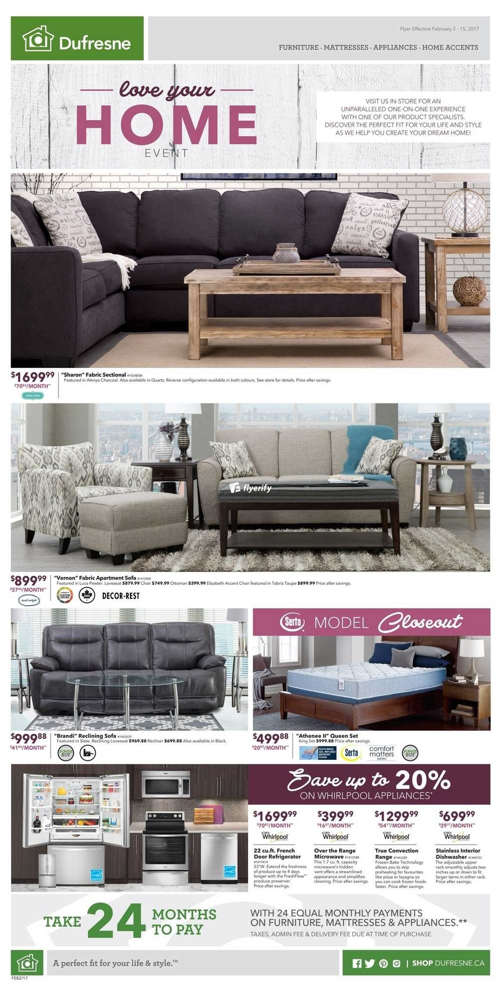 Featured Image of Dufresne Sectional Sofas