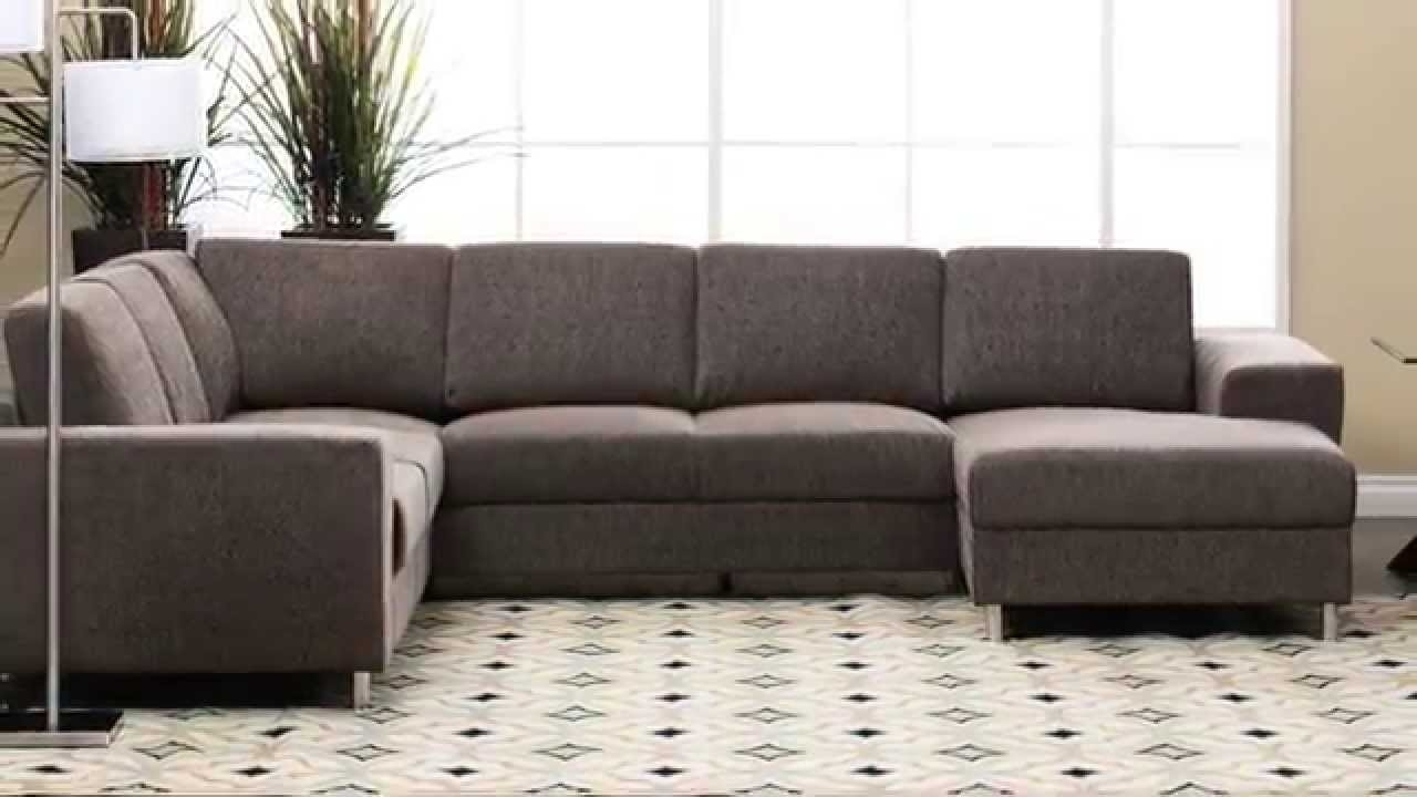 Jerome's Furniture – Elena Sectional – Youtube Regarding Jerome's Sectional Sofas (View 2 of 10)