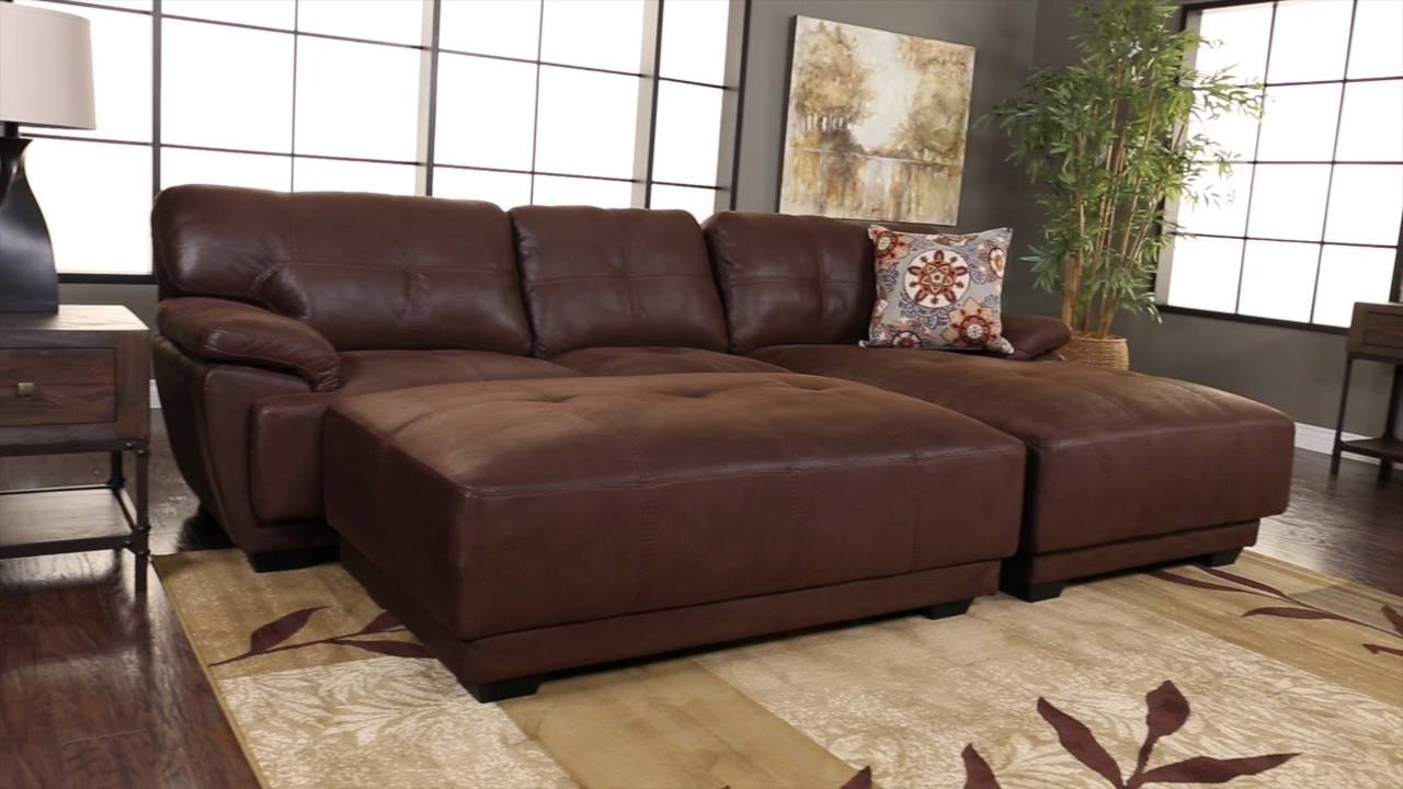 Jerome's Furniture Oasis Sectional – Youtube Within Jerome's Sectional Sofas (Image 5 of 10)