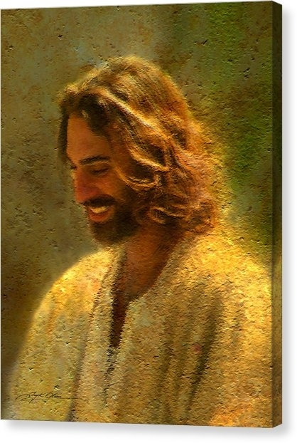 Jesus Canvas Prints | Fine Art America For Jesus Canvas Wall Art (Image 11 of 15)