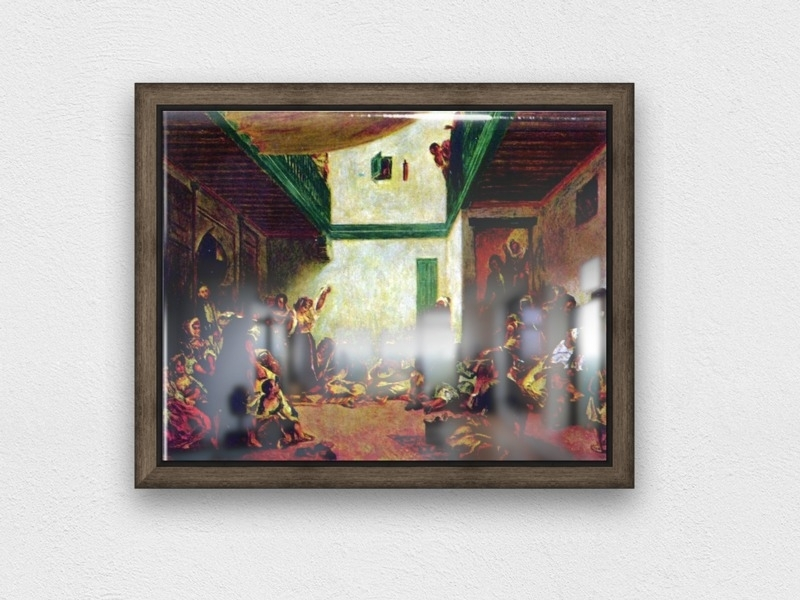 Jewish Wedding (After Delacroix)Renoir – Renoir Canvas In Jewish Canvas Wall Art (View 2 of 15)