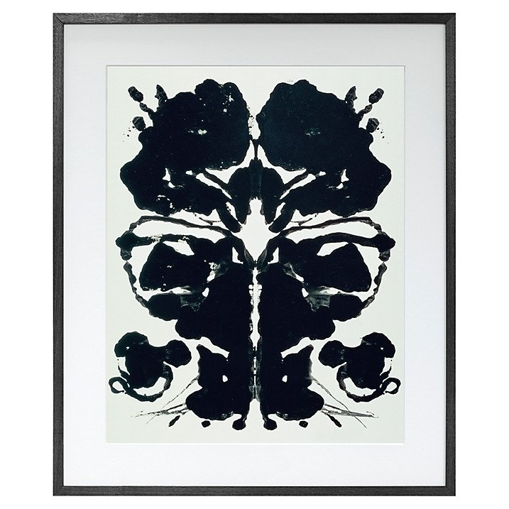 John Lewis Andy Warhol Rorschach Print | Andy Warhol Inspired Home Within John Lewis Abstract Wall Art (Image 6 of 15)