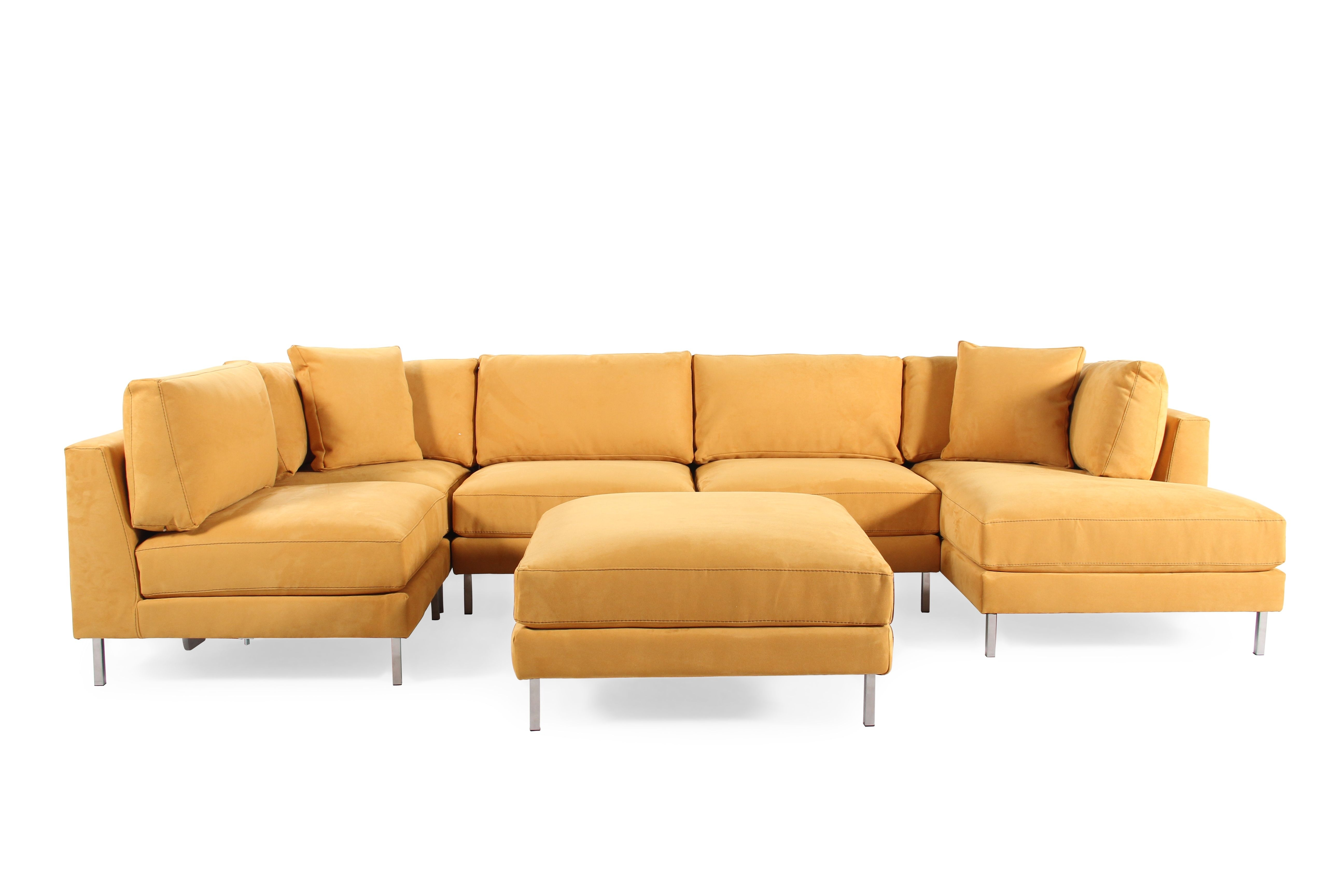 Jonathan Louis Remy Six Piece Sectional | Mathis Brothers Furniture With Regard To Mathis Brothers Sectional Sofas (Image 4 of 10)