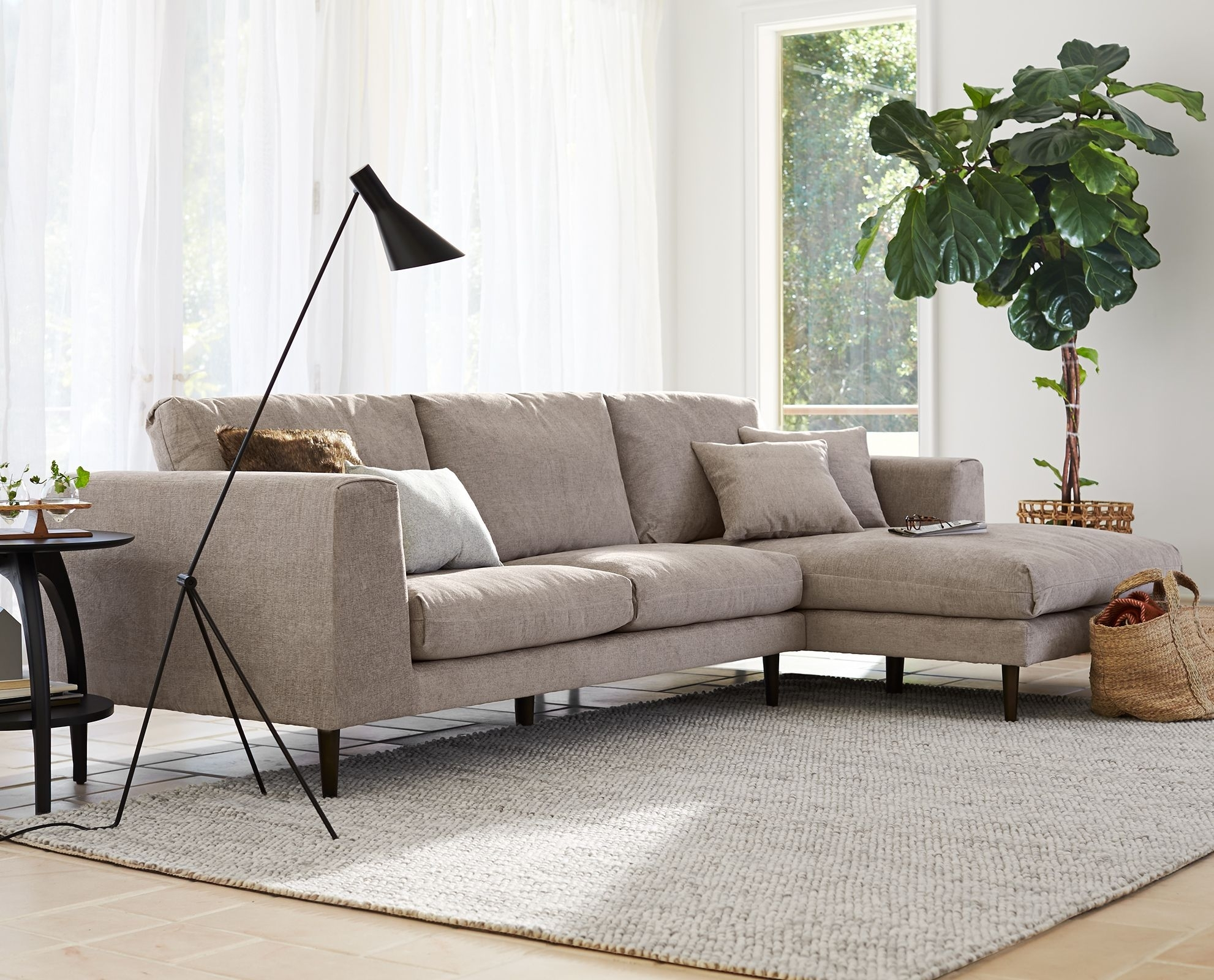 Jorgen Chaise Sectional | Decor Inspiration | Pinterest | Living within Dania Sectional Sofas