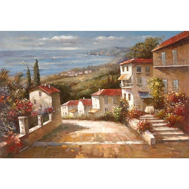 Joval 'home In Tuscany' Canvas Art - Free Shipping Today for Joval Canvas Wall Art