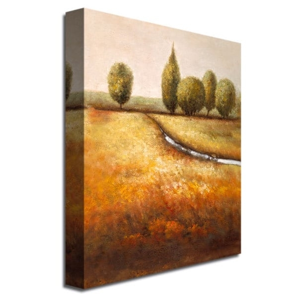 Joval 'in The Country Ii' 14X19 Canvas Wall Art – Free Shipping Regarding Joval Canvas Wall Art (Image 10 of 15)
