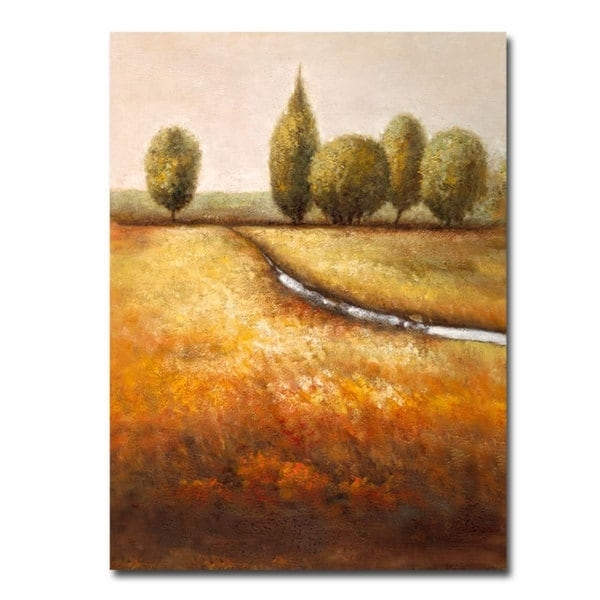 Joval 'in The Country Ii' 14X19 Canvas Wall Art - Free Shipping regarding Joval Canvas Wall Art