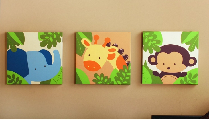 Jungle Themed Baby Stuff ~ Ohmygoogoogaga Inside Safari Canvas Wall Art (View 8 of 15)