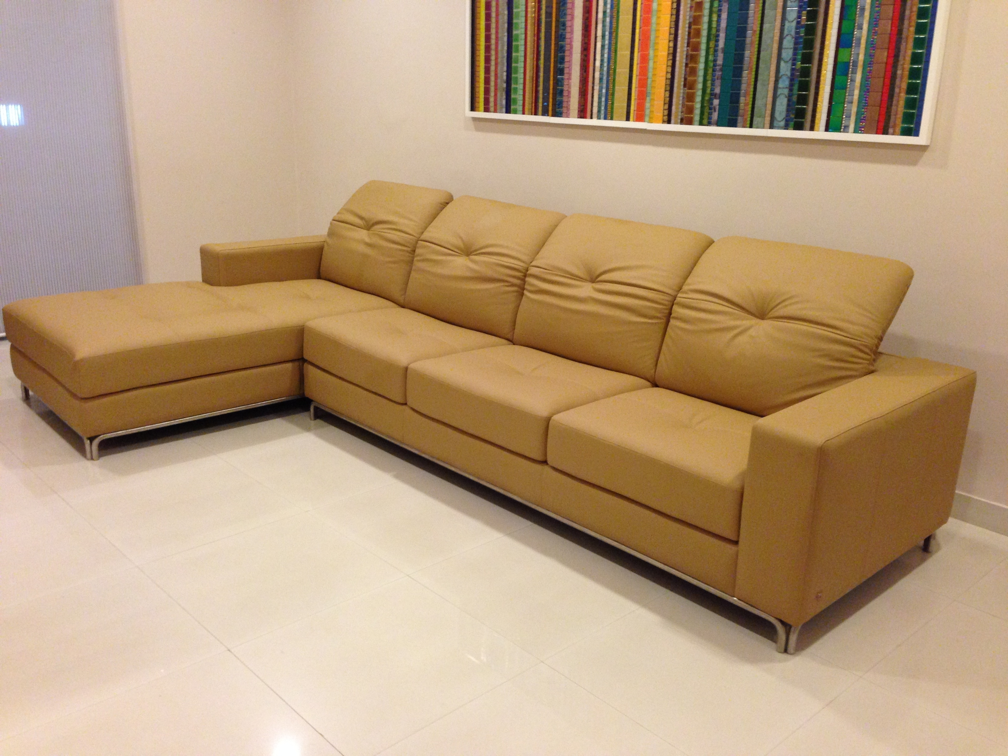 Karlsson Leather: Custom Leather Sofas, Recliners, Car Seat Covers Inside Sectional Sofas At Bangalore (Image 4 of 10)