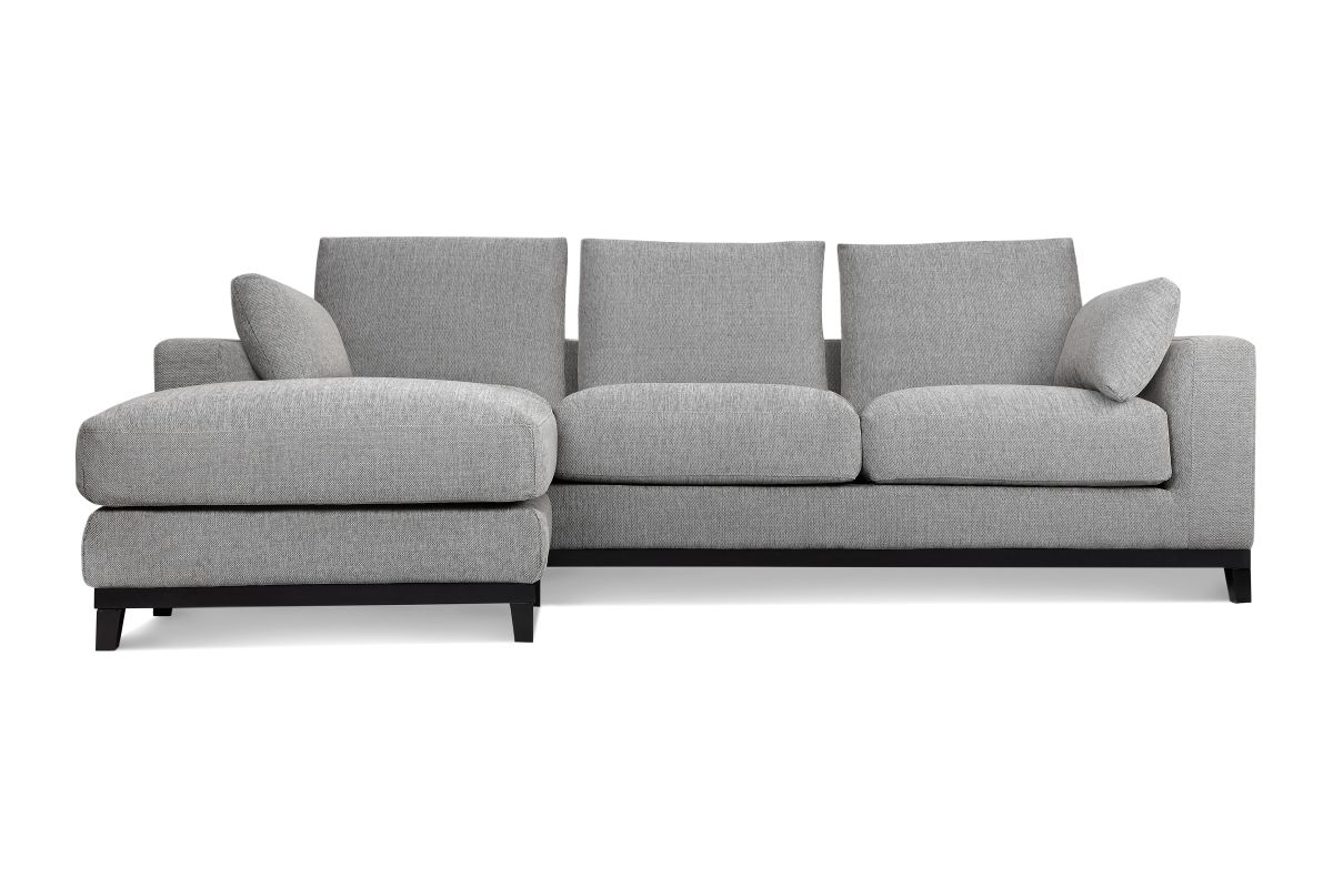 Kellan Sofa With Ottoman, Light Grey | Ottomans, Lights And Apartments In Sofas With Ottoman (View 2 of 10)