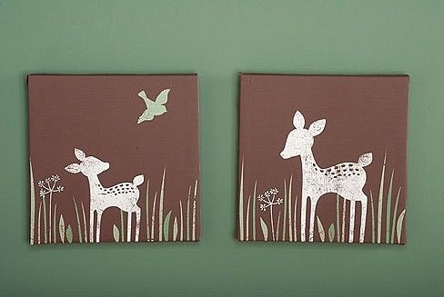 Kids Line Willow Organic Canvas Wall Art | Favorite Places And Inside Kidsline Canvas Wall Art (View 5 of 15)