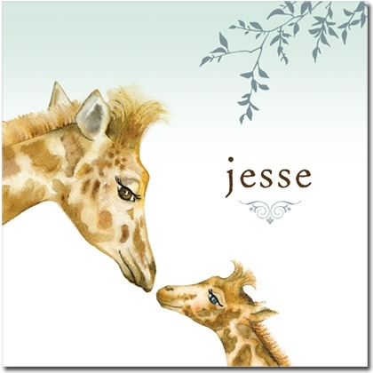 Kids Wall Art Canvas Make The Perfect Gift | Personalized Kids In Giraffe Canvas Wall Art (View 7 of 15)