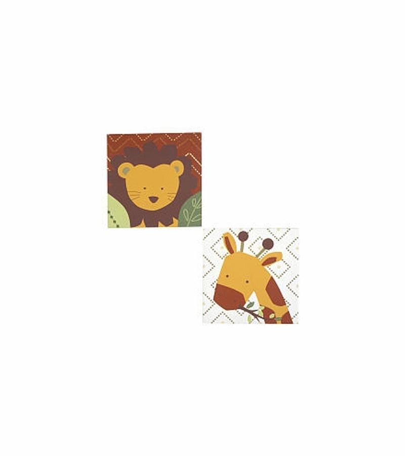 Kidsline African Dreams Canvas Wall Art Inside Kidsline Canvas Wall Art (Image 9 of 15)