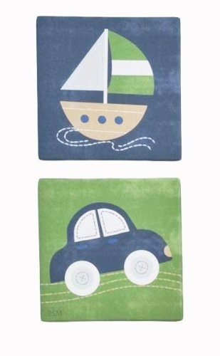 Kidsline Wall Decor: Kids Line Canvas Wall Art – Cambridge Intended For Kidsline Canvas Wall Art (View 2 of 15)