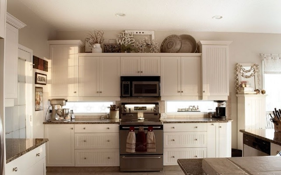 Kitchen Cabinet Decor – Weliketheworld Regarding Wall Accents Cabinets (Image 8 of 15)