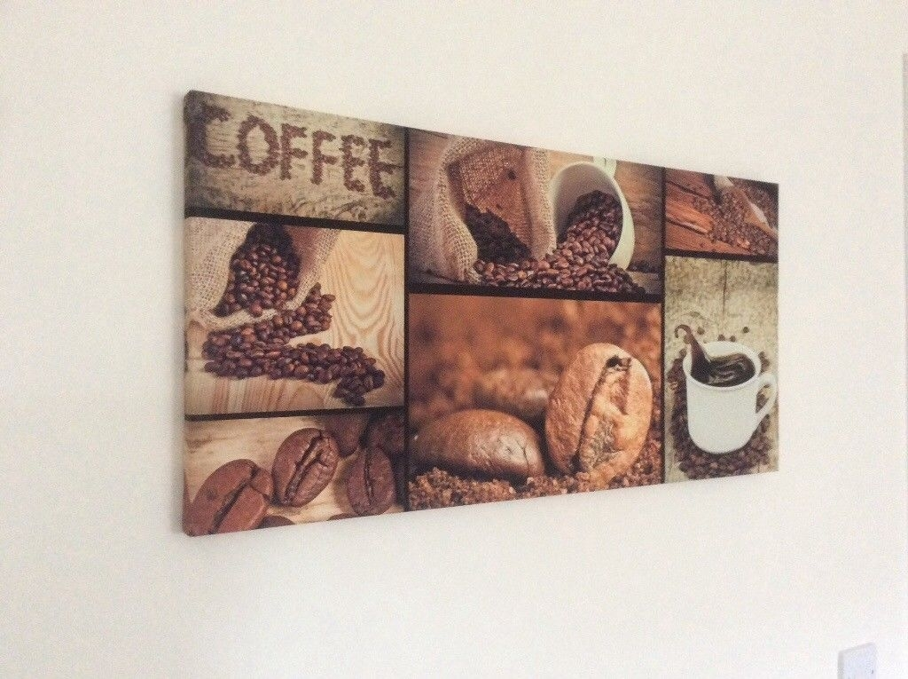 Kitchen Wall Art On Canvas | In Pembroke, Pembrokeshire | Gumtree For Gumtree Canvas Wall Art (Image 8 of 15)