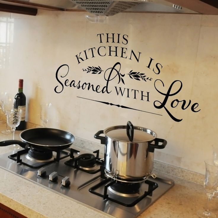 Kitchen Wall Decor Ideas Best 25 Kitchen Wall Decorations Ideas On Within Wall Accents For Kitchen (View 14 of 15)