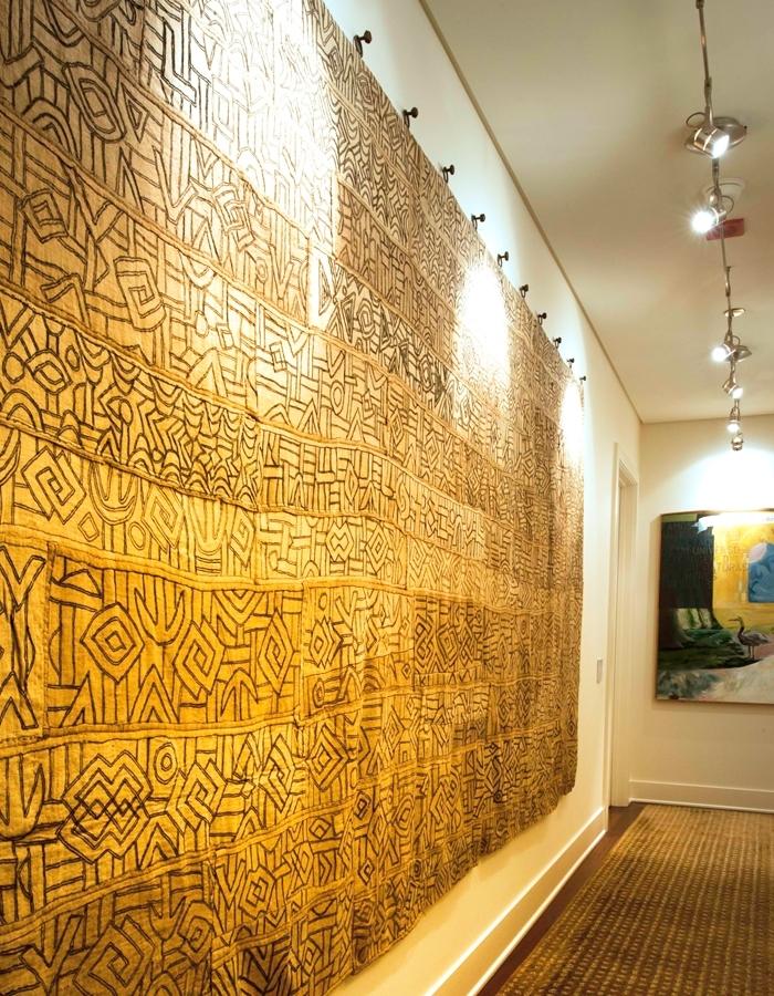 Kuba Cloth — Cloth & Kind Regarding African Fabric Wall Art (View 15 of 15)