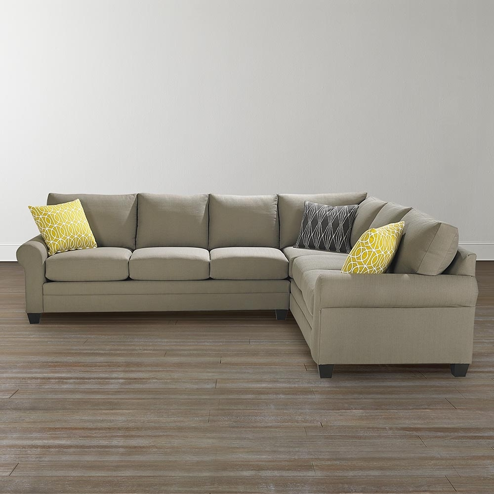 L Shaped Sectional Sofa In Sectional Sofas At Bassett (Image 7 of 10)
