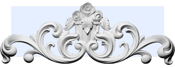 La Rosa Flourish Exterior Wall Decoration In Architectural Wall Accents (View 14 of 15)