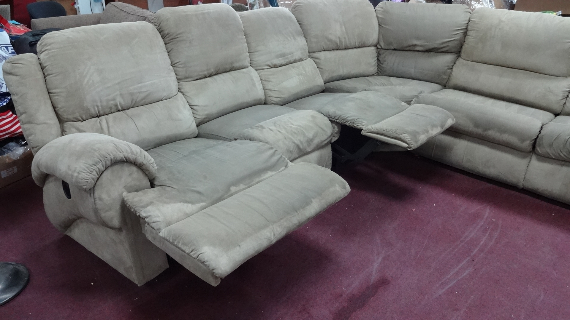 La Z Boy Sectional Sofa Bed • Sofa Bed Pertaining To Sectional Sofas At The Brick (Image 7 of 10)