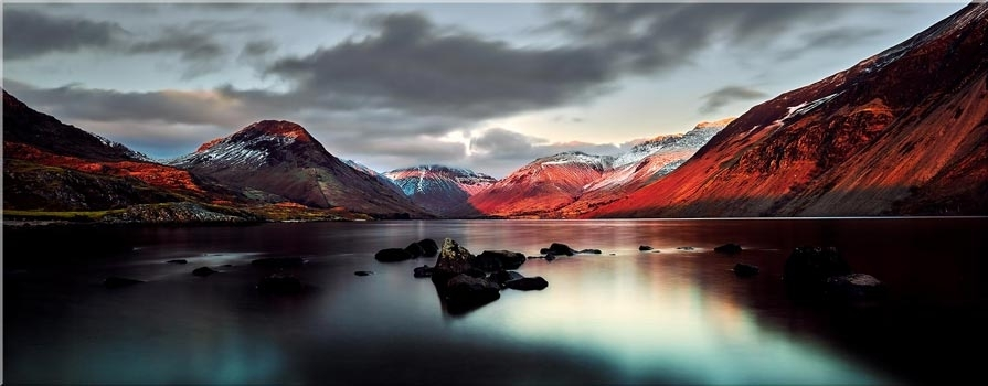 Lake District Canvas Prints – Single And Multi Panel Canvases In Lake District Canvas Wall Art (Image 3 of 15)