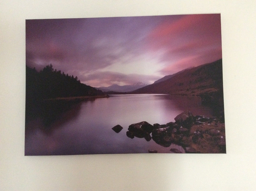 Landscape Canvas Wall Art | In Christchurch, Dorset | Gumtree With Regard To Gumtree Canvas Wall Art (View 4 of 15)