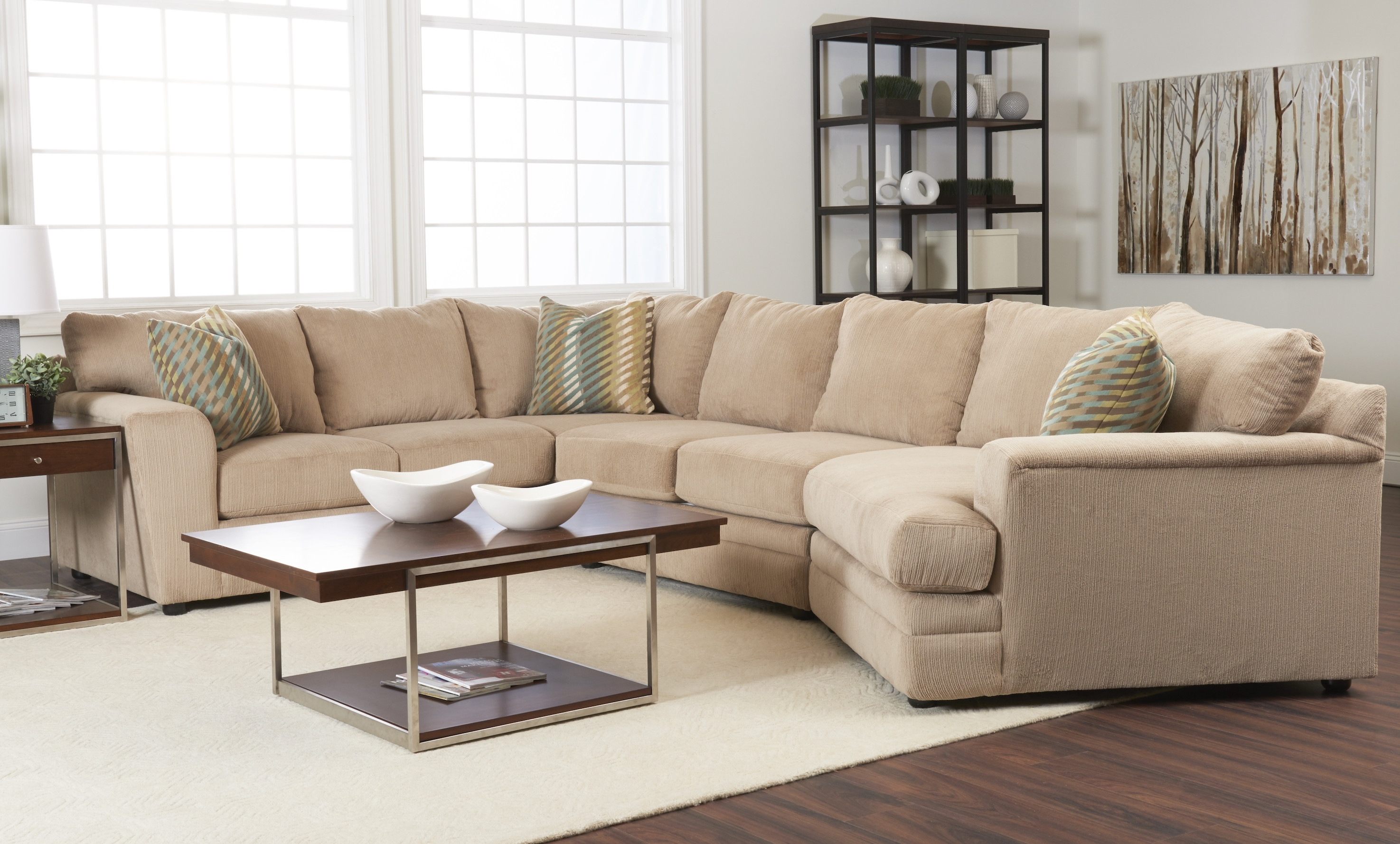 Lane Furniture Sectional Sofa Within Visalia Ca Sectional Sofas (Image 8 of 10)