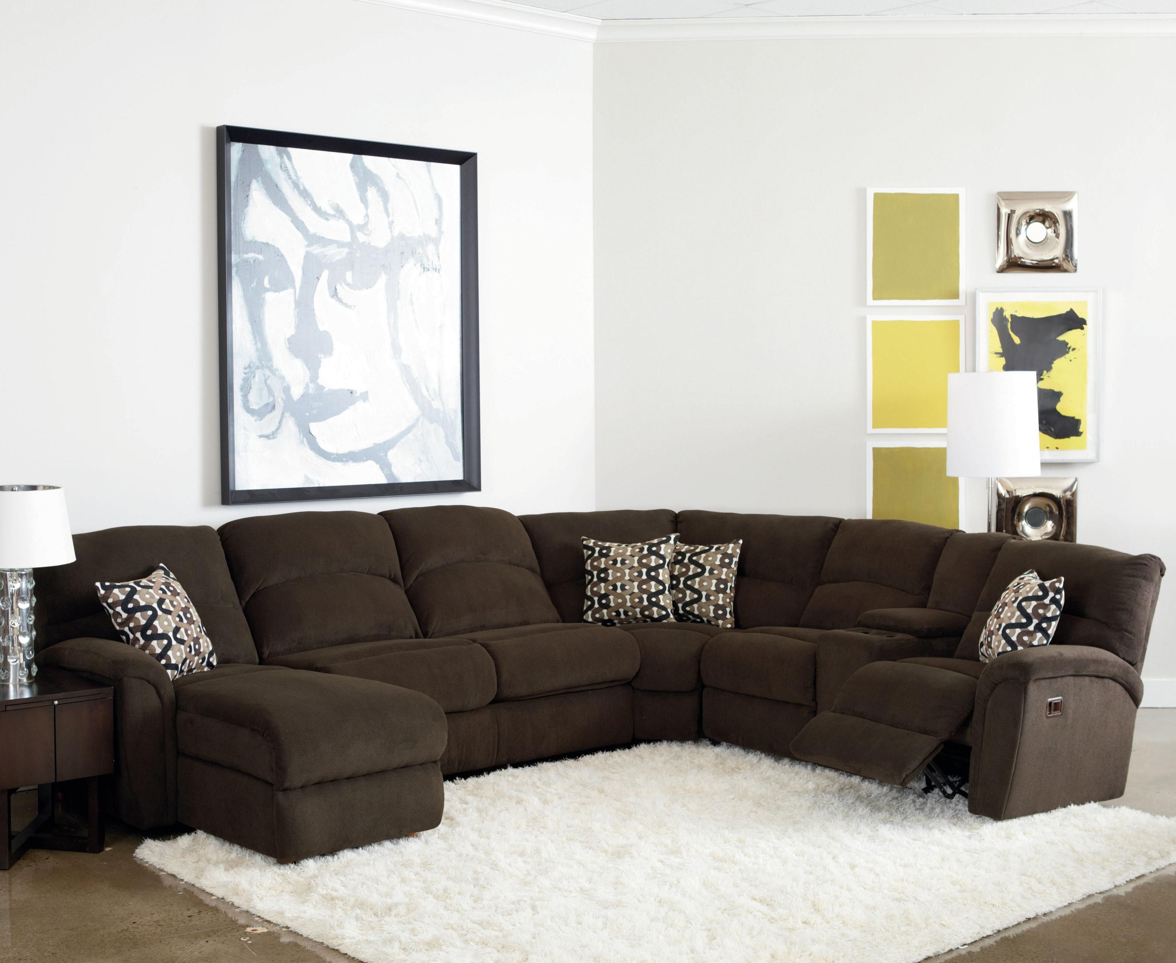 Lane Grand Torino Casual Four Piece Power Sectional Sofa W/ Full Pertaining To Grand Furniture Sectional Sofas (Image 5 of 10)