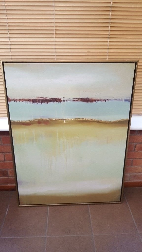 Large Canvas Wall Art | In Warwick, Warwickshire | Gumtree Within Gumtree Canvas Wall Art (View 15 of 15)