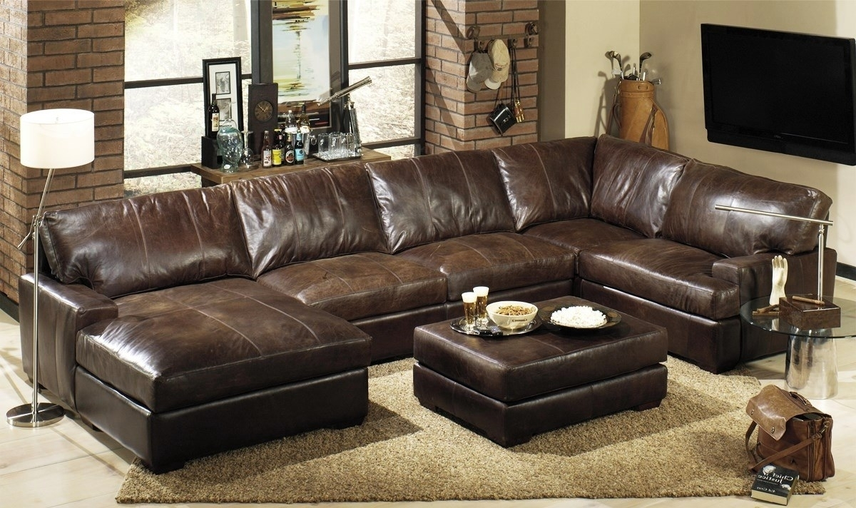 Featured Image of High End Leather Sectional Sofas