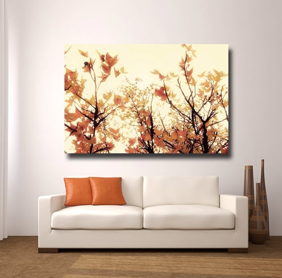 Large Orange Wall Art Canvas Gallery Wrapamytylerphotography Pertaining To Orange Canvas Wall Art (Image 9 of 15)