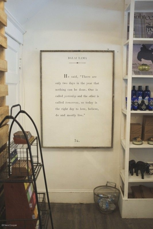 Large Quote Art (Engineer Print With Diy Frame) Via Classic Play Pertaining To Large Canvas Wall Art Quotes (View 5 of 15)