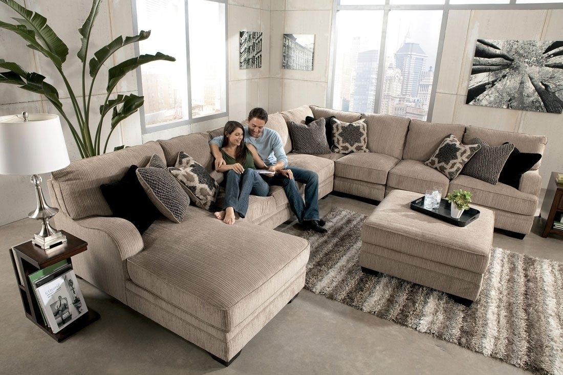 Large Sectional Sofas And Plus Grey Couch With Chaise And Plus For Long Sectional Sofas With Chaise (Image 6 of 10)