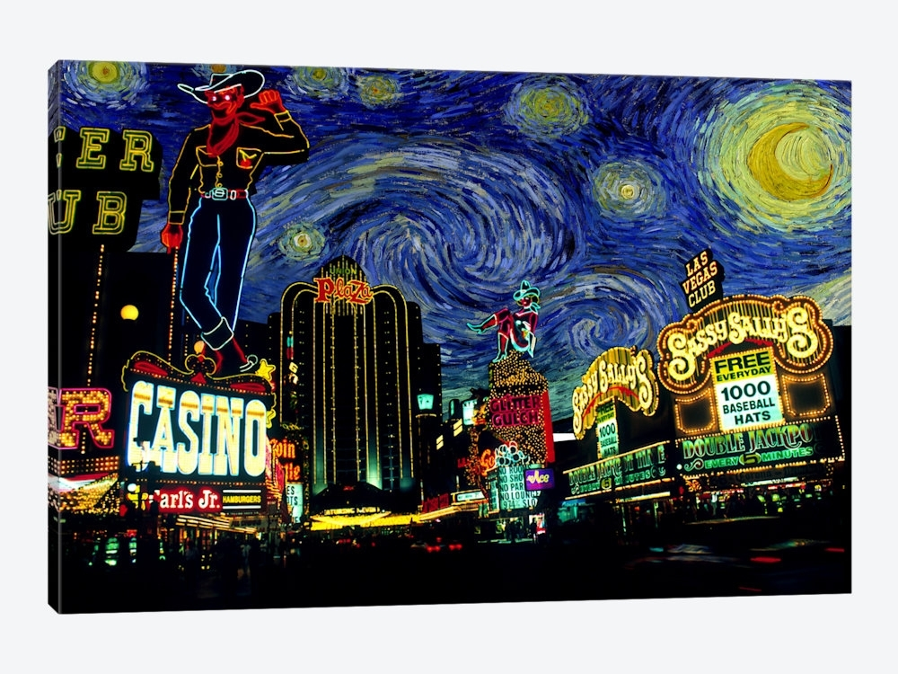 Las Vegas Wall Art | Himalayantrexplorers With Regard To Las Vegas Canvas Wall Art (View 14 of 15)