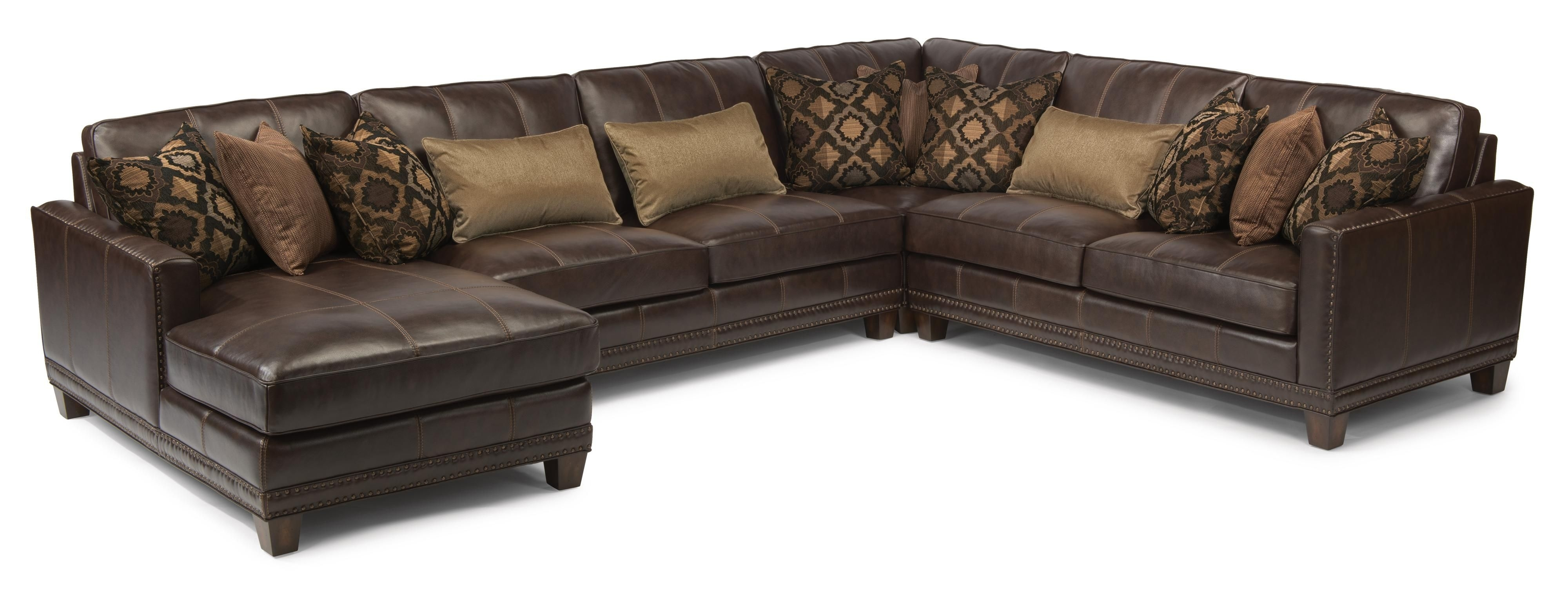 Latitudes – Port Royal Transitional Four Piece Sectional Sofa With Within Johnson City Tn Sectional Sofas (Image 5 of 10)