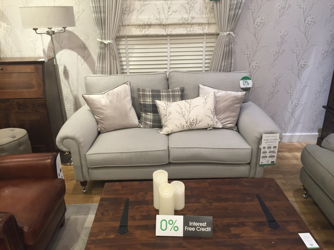 Laura Ashley Kingston Sofa Dove Grey | Home Decor | Pinterest | Dove Throughout Kingston Sectional Sofas (View 8 of 10)