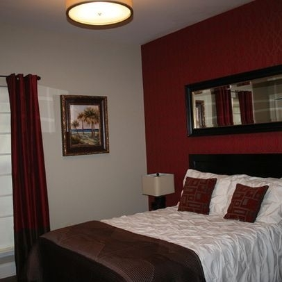 Layout | Maroon Walls Design Ideas, Pictures, Remodel, And Decor Intended For Maroon Wall Accents (View 9 of 15)