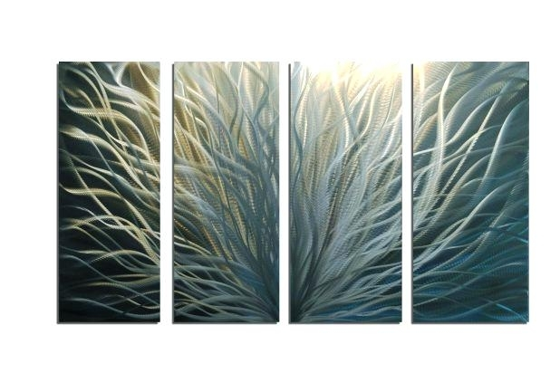 Leaf Metal Wall Decor Impressive For Your House Black Radiance Intended For Abstract Leaf Metal Wall Art (View 13 of 15)