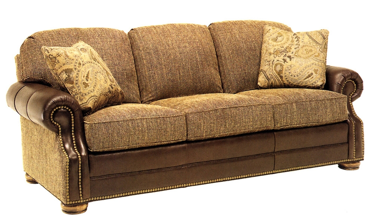 Merveilleux Featured Image Of Leather And Cloth Sofas