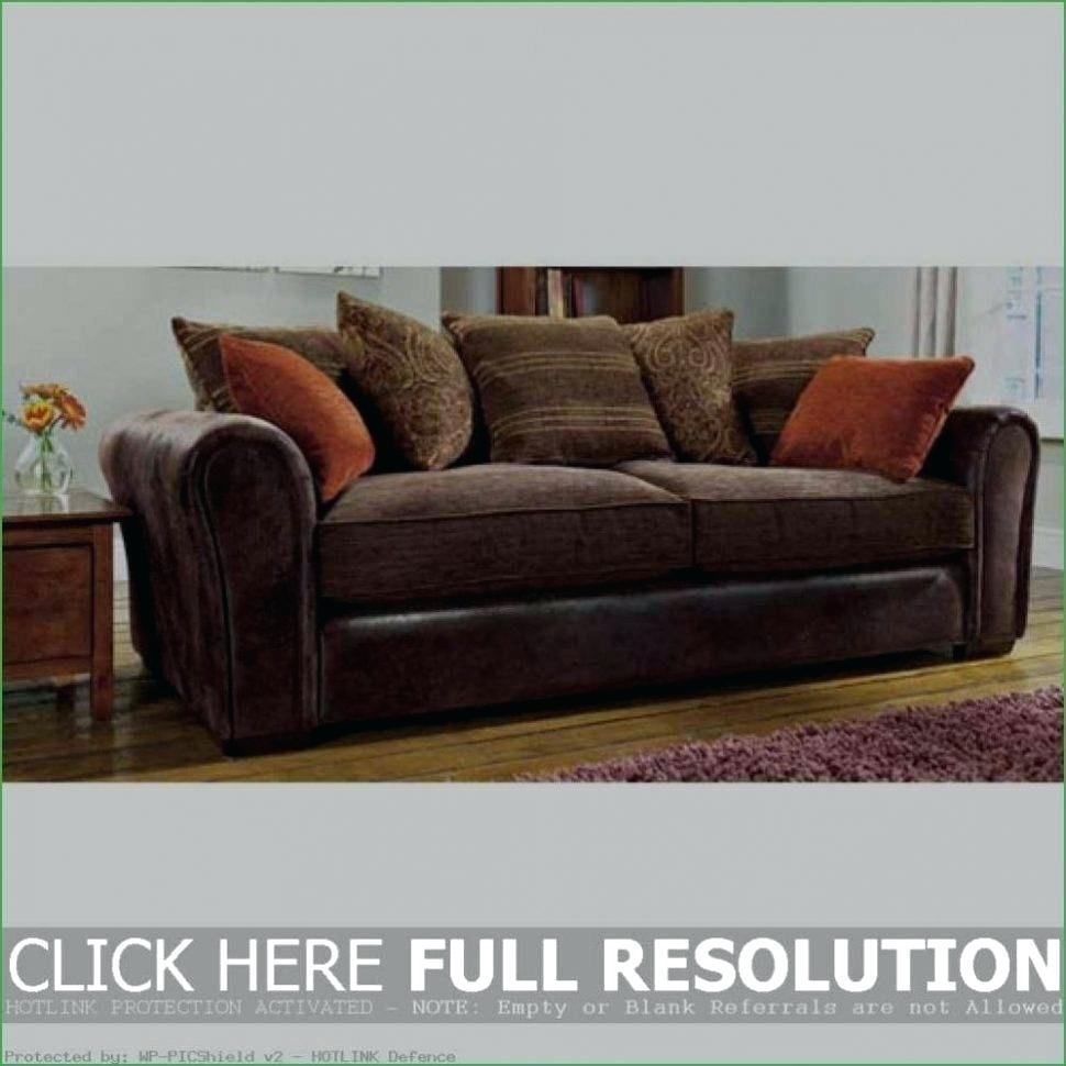 Leather And Cloth Sofa – Seewetterbericht Inside Leather And Cloth Sofas (Image 5 of 10)
